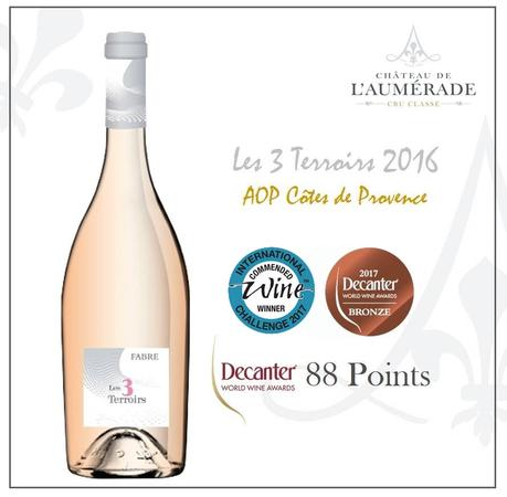 LES 3 TERROIRS – RECOMPENSE PAR DECANTER ET L'INTERNATIONAL WINE CHALLENGE